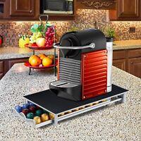 40 Pod Nespresso Coffee Machine Stand & Capsule Storage Holder Drawer Dispenser