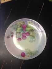 Holiday China hand painted desert plate made in Germany