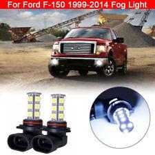 For Ford F-150 1999-2014 Lighting Fog Light Bulb LED H10 18 SMD White 1 Pair