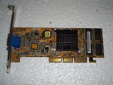 Scheda video AGP ASUS 32Mb vintage funzionante ottima per computer