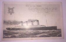 Rare Vintage Titanic Post-Card (Un-Used) Made in Belgium