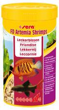 Comida liofilizadas de artemia para peces