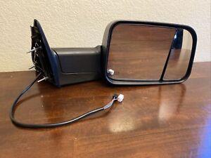 1 PCS. OEM Tow Mirror Fits 2010-2012 Dodge Ram 1500 2500 3500 RH 55372072