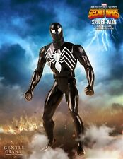 Spider-Man Black Version Marvel Secret Wars Jumbo Action Figure By Genle Giant