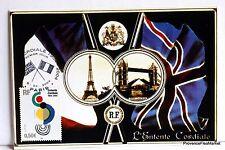Yt 3657 L ENTENTE CORDIALE    FRANCE CARTE MAXIMUM 1° JOUR FCP