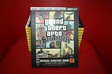Grand Theft Auto San Andreas GTA Brady Games Official Strategy Guide for Ps2 NEW