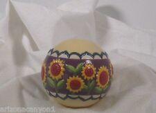 Jim Shore Multi-Colored Decorative Ball of Sunflower Nordic Design 119599 Nwt