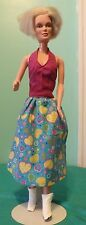 Blue Valentine Gown, Pastel Hearts for Supersize Barbie or Tiffany Taylor SSHV97