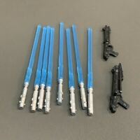 Lot 10 Pcs Lightsaber gun Accessory For Star Wars 3.75'' Skywalker Figure Toys