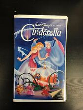Cinderella Motion Picture VHS Black Diamond Version 1950 Walt Disney Clamshell