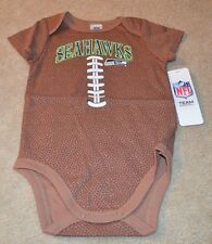 Seattle Seahawks Baby Boy Football Bodysuit NEW NFL 18 Months