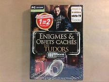 JEU PC CD ROM / ENIGMES ET OBJETS CACHES / THE TUDORS / NEUF SOUS CELLO