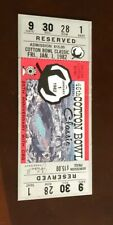 1982 COTTON BOWL COLLEGE FOOTBALL TICKET STUB TEXAS LONGHORNS FULL TICKET