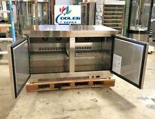 """NEW 60"""" Commercial Under Counter Freezer 2 Door Model TUC60F Restaurant Bar NSF"""
