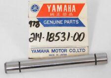 1 NOS Yamaha YSR50 YZ80 YZ125 DT100 DT175 Shift Fork Guide Bar OEM 214-18531-00