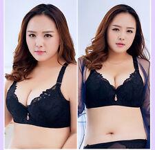 C D E Cup 34 36 38 40 42 44 46 48 50 Plus Size Womens Lace Bra Push Up Brassiere