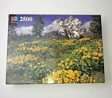 "MB Grand Teton National Park, WY Complete 2500 Piece Puzzle 26.5"" x 38.25 """