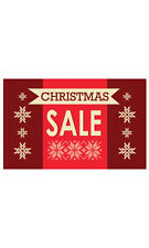 Count of 25 New Medium Christmas Sale Sign Card 7�H x 11�W