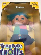 Galoob Treasure Trolls Shubee 1st Edition Cuddle Tots 45040