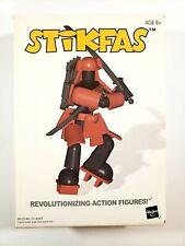 Hasbro: Stikfas AFK4 - ALPHA MALE SAMURAI WARRIOR Figure - Complete - Vintage
