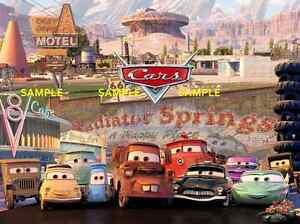 "-Pixar - Disney - Cars 2 - [ 8.5"" x 11"" ]  movie - Poster"