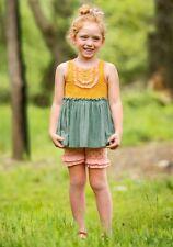 Matilda Jane Bingo Shorties Shorts Girls Size 8 NWT In Bag Polka Dot