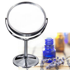 Double Side Round Magnification Make Up Cosmetic Shaving Bathroom Vanity Mirror