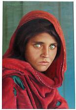 Sharbat Gula steve McCurry Afghan chica Portrait ölbild lienzo afganistán