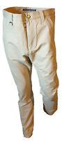 Pantalone Chino Classico Vita Alta Gamba Dritta Uomo CLINK Beige Taglia 46 W32