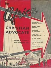 Africa Christian Advocate, Vol. 15, #3, July-Sept 1957 Methodist Missionary