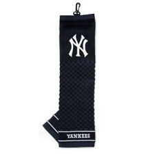 New York Yankees Tri-Fold Golf Bag Towel  Officially Licensed Course Club Driver