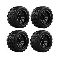 Set/4Pcs Wheel Rim Tires Tyre for 1:10 HSP HPI REDCAT  Truck Crawler