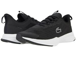 Men's Shoes Lacoste RUN SPIN 0721 1 Athletic Sneakers 41SMA0091312 BLACK & WHITE