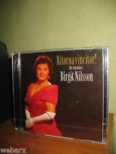THE LEGENDARY BIRGIT NILSSON RITORNA VINCITOR 2 CD NUOVO SIGILLATO