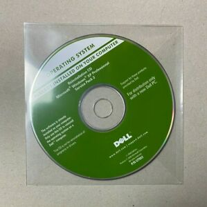 Microsoft Windows XP Professional Service Pack 2 32 Bit Reinstallation CD DELL