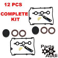 Valve Cover Engine Gasket Kit Set 14 pcs VW Passat Audi A4 S4 V6 2.8 2.7 PRO SET