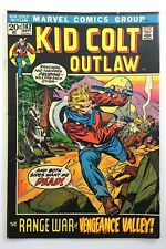 Vintage 1972 Kid Colt Outlaw Range War Vengeance Valley 162 Marvel Comics P983