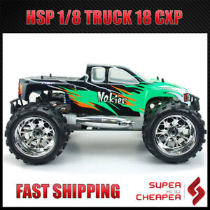 Hsp Remote Control Nokier 2.4Ghz 1/8 Rc Car Off Road Nitro Gas Monster Truck