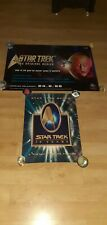 STAR TREK 2 X POSTERS SMALL DOULE SIDE