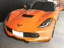 Stage 2 Carbon Fiber Front Bumper Lip For 14-17 Chevy Corvette C7 Z06 Stingray