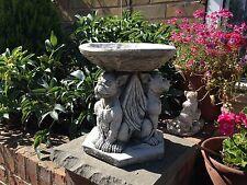 Gargoyle Dogs with wings Stone Bird bath,Garden stone ornaments,Gargoyle Dogs