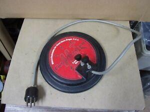 "7.5"" Search Coil Whites GoldMaster 66-T Metal Detector Transmitter Receiver Vtg"