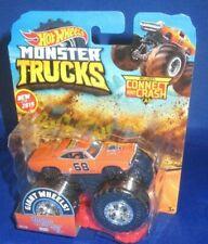 Giant Hot Wheels Monster Trucks 1 64 Dodge Charger 68 Crash Car #35 2019 Crack