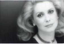 Dominique Issermann - Catherine Deneuve - Epreuve argentique 1982 -