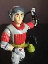 """Vtg G.I. Joe 1987 Sneak Peek Action Figure S6 V1 3-3/4"""" Binoculars & Tower"""
