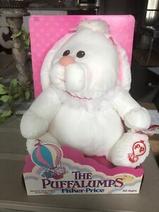 Vintage Puffalumps Fisher Price Mint in Box, 1986