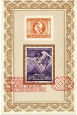 ARGENTINIEN 11.11.1950 Internationale Briefmarkenausstellung, Buenos Aires SST