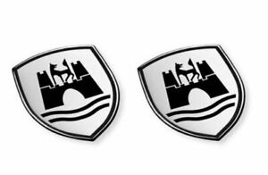 """Volkswagen  Emblem """"Wolfsburg Wappen"""" 5C0064317ASXRW selbsklebend"""