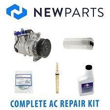 Audi A4 DOHC 05-06 2.0L 1.8L Complete A/C Repair Kit W/ NEW Compressor & Clutch
