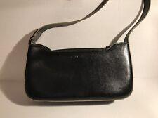 Guess Brand Black Leather Clutch/Purse/Handbag